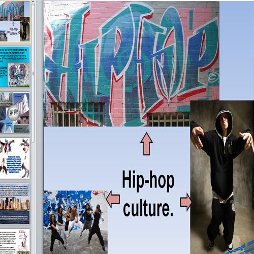 Презентация хип-хоп культура