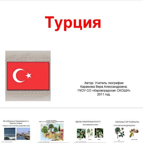Презентация Турция