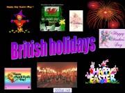 Презентация Британские праздники