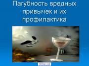 Презентация Вредные привычки и их профилактика