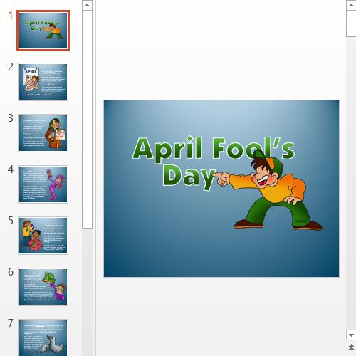 Презентация April Fool's Day