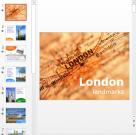 Презентация Достопримечательности Лондона на английском