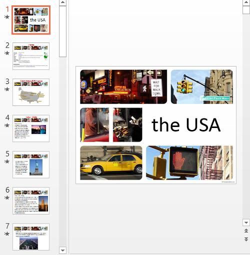 Презентация The USA
