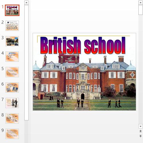 Презентация Учеба в Великобритании