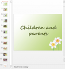 Презентация Children and parents