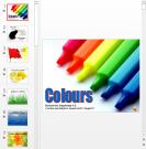 Презентация Основные цвета