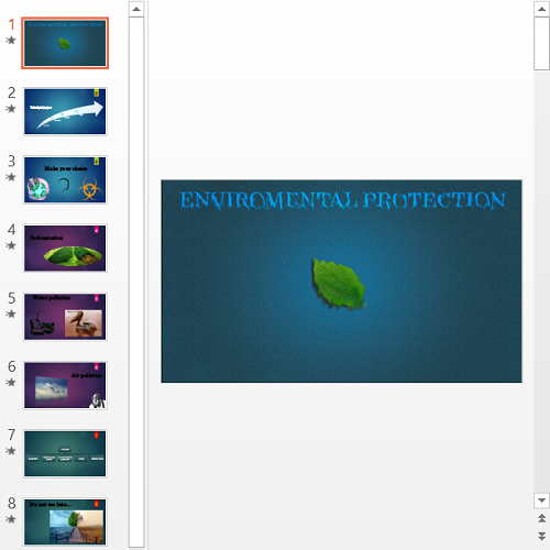 Презентация Environment