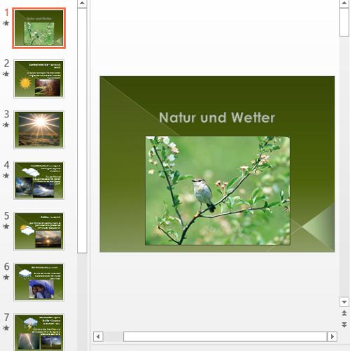 Презентация Wetter