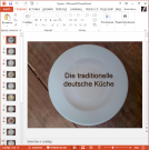 Презентация Национальная кухня Германии