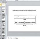 Презентация Руководство в процессе проектирования ПО