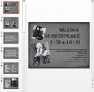 Презентация Уильям Шекспир