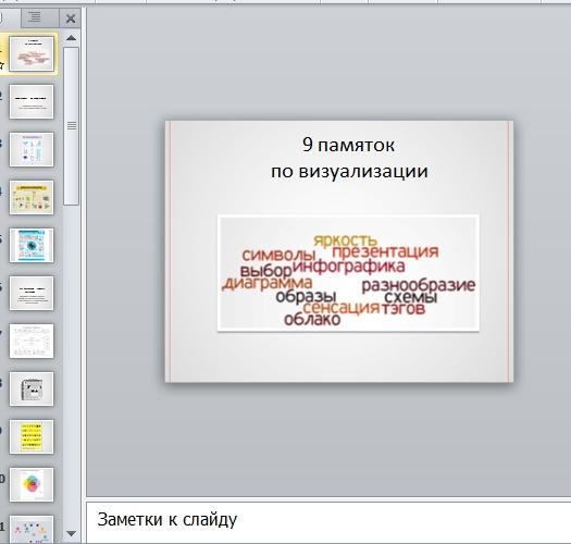Презентация Визуализация