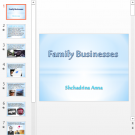 Презентация Family businesses