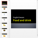 Презентация Food and drink topic