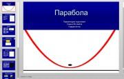 Презентация Парабола