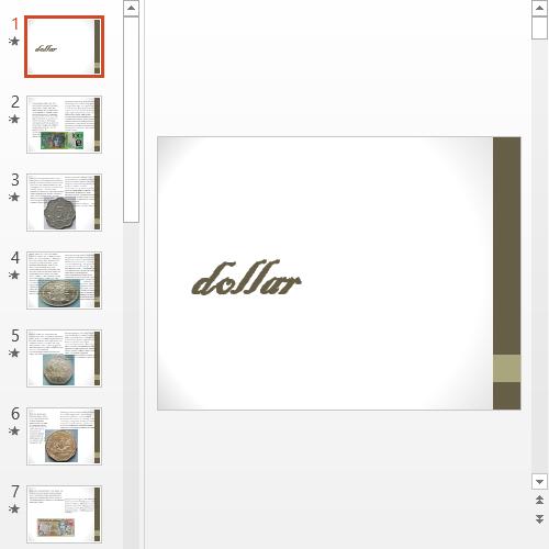 Презентация Dollar