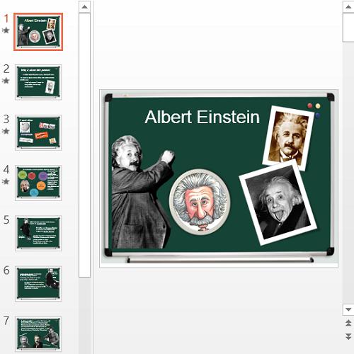 Презентация Альберт Эйнштейн на английском