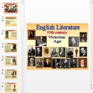 Презентация Английская литература XIX века