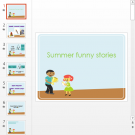 Презентация Летние истории на английском