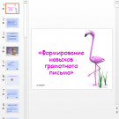 Презентация Грамотность