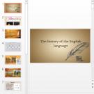 Презентация История английского языка