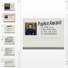 Презентация Пушкин на английском