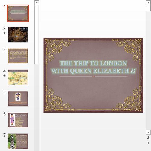 Презентация Trip to London