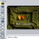 Презентация Веб-дизайн