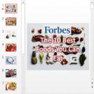 Презентация 10 best food