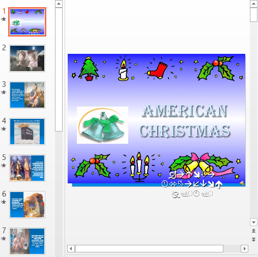 Презентация American Christmas