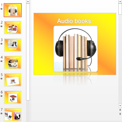 Презентация Audio books