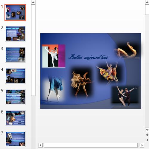 Презентация Ballet