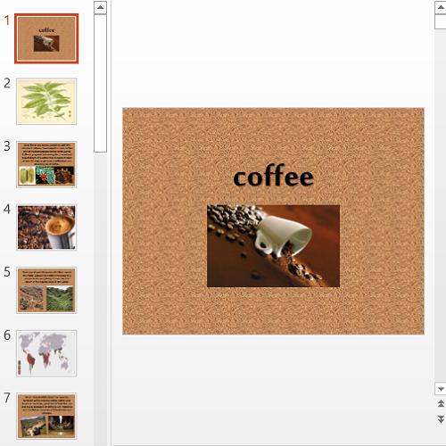 Презентация Coffee