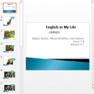 Презентация English in My Life