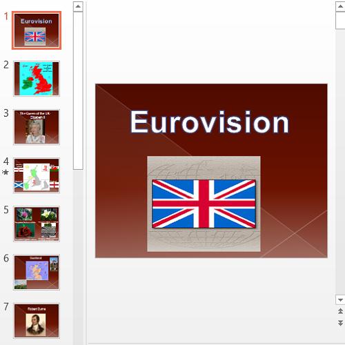 Презентация Eurovision
