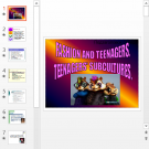 Презентация Fashion and teenagers