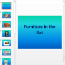 Презентация Furniture in the flat