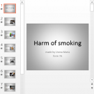 Презентация Harm of smoking