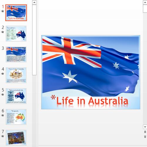 Презентация Life in Australia