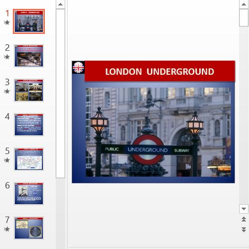 Презентация London underground