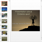 Презентация Extreme mountain biking
