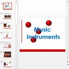 Презентация Music instruments