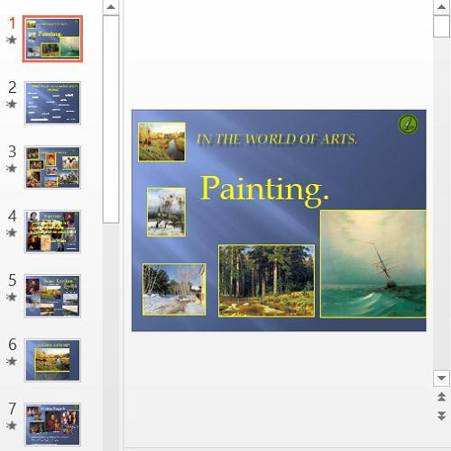 Презентация Topic Painting