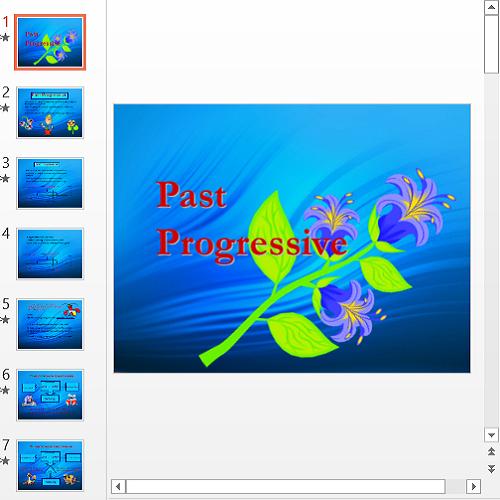 Презентация Past Progressive