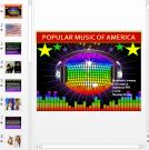 Презентация Popular music of America