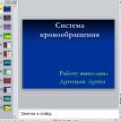 Презентация Система кровообращения