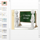 Презентация Стили речи в русском