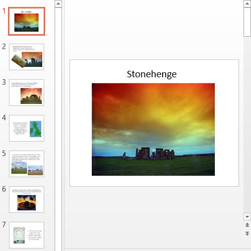 Презентация Stonehenge