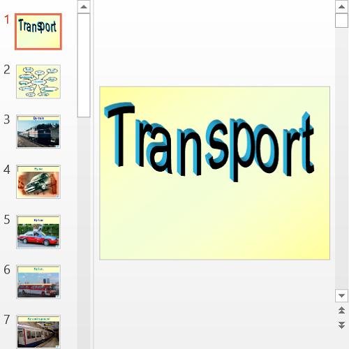 Презентация About transport