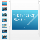 Презентация The types of films